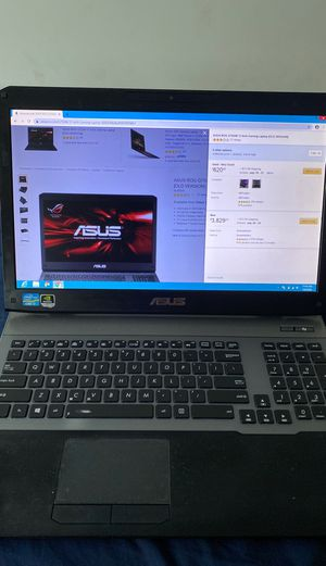 ASUS Rog G75VW gaming notebook PC for Sale in Alexandria, VA
