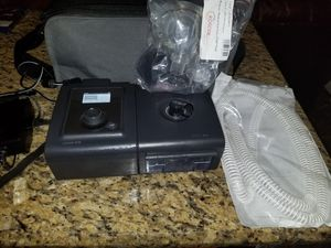 Respironic remstar Cflex. Cpap sleeping respiratory oxygen with new hose and mask for Sale in Brandon, FL