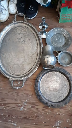 ANTIQUES VINTAGE PIECES,GLASSWARE COPPER BRASS CAST IRON KOLLECTABLES for Sale in New Bedford, MA