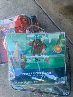 Moana blanket for Sale in Riverside, CA