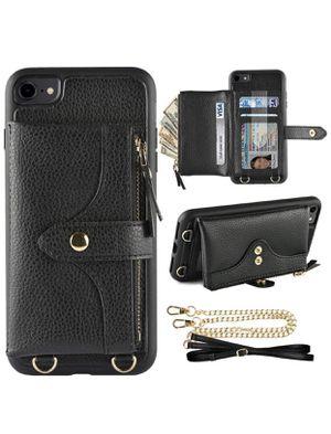 iPhone 8Plus Crossbody Wallet Case for Sale in Marietta, GA