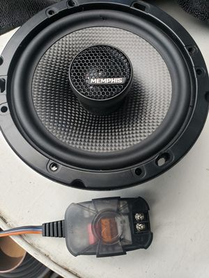 """Car Speakers size 6.5"""" with crossovers one pair for Sale in National City, CA"""