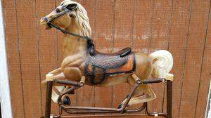 Childs Antique/Vintage Wonder Horse Rocking Horse for Sale in Wrentham, MA