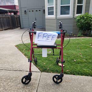 4 wheel walker with seat for Sale in Vallejo, CA