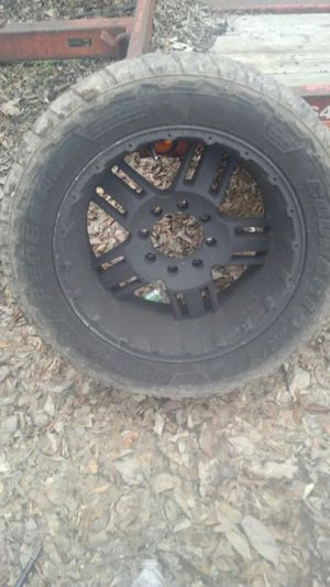 "20"" inch rims and tires.'Mud"" for Sale in Nashville, TN"