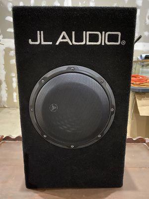 JL Audio CP108LG-W3v3 Microsub ported subwoofer for Sale in Bremerton, WA