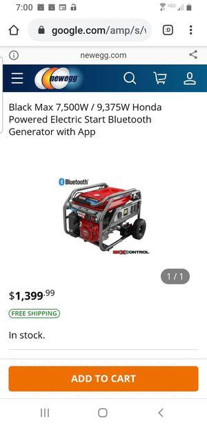 Brand New Honda-Powered Generator for Sale in Nicholasville, KY
