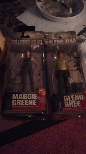 Walking dead action figures for Sale in Austin, TX
