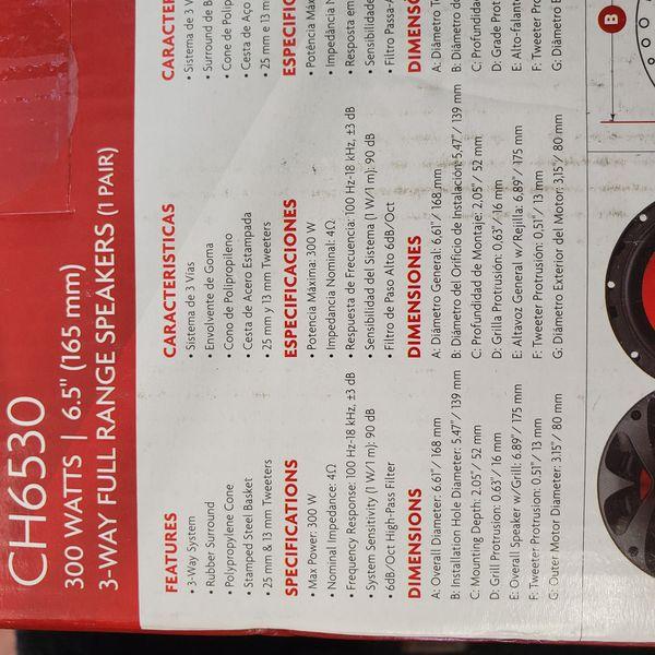 BOSS (audio system speakers 300w)