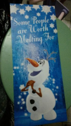Frozen, Olaf, frame for Sale in Miami, FL