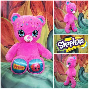 "💘 18"" Build-A-Bear Shopkins D'Lish Donut Pink Plush BABW Stuffed Soft Toy for Sale in Hallettsville, TX"