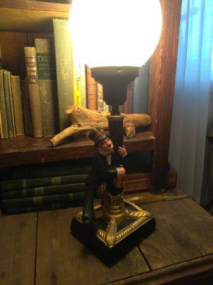 Vintage 1950s Ceramic Drunk Light Pole​ Lamp bar man cave for Sale in Pittsburgh, PA