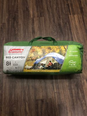 Coleman Red Canyon 8 Person Tent for Sale in Burbank, CA