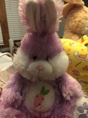 Purple bunny in basket for Sale in Chicago, IL
