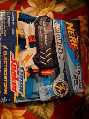Motorized nerf gun-super soaker for Sale in Wilmington, IL