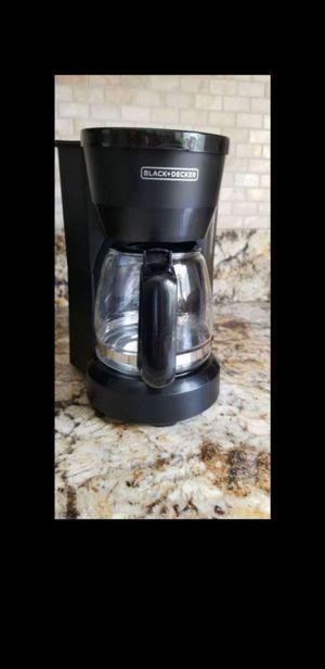 Black and Decker 5 cup coffee maker for Sale in Boynton Beach, FL