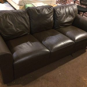 Leather Sofa for Sale in Oxon Hill, MD