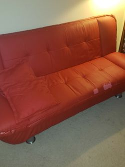 Red Couch/Sofa Bed for Sale in Randallstown,  MD