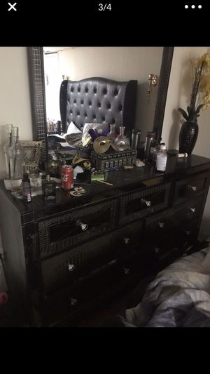 Tall dresser and long dresser with mirror for Sale in Falls Church, VA