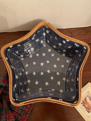 Longaberger Star Basket for Sale in Manhasset, NY