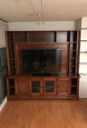 Premium TV stand and Entertainment Center for Sale in Jersey City, NJ
