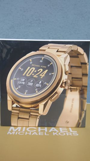 New Authentic Michael Kors Men's Goldtone Smart Watch ⌚⌚⌚ for Sale in Pico Rivera, CA