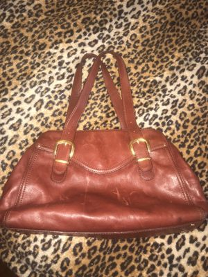 Michael Kors brick color leather tote bag great condition for Sale in Concord, CA