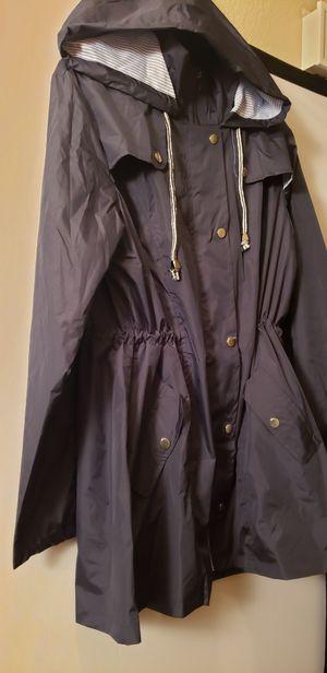 New Navy L Waterproof Jacket women/ men for Sale in Las Vegas, NV