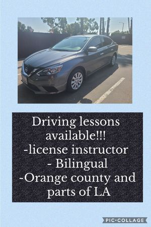 Driving lessons!! for Sale in Tustin, CA