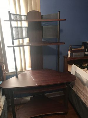 Computer desk with shelf for Sale in Chicago, IL