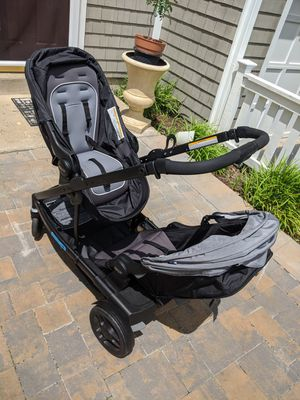Graco convertible double stroller and car seat with 2 car seat bases for Sale in Herndon, VA