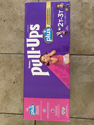 Huggies pull ups size 2T-3T for Sale in Spring Valley, CA