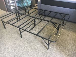 14 inch Queen Metal Bed Frame, Black for Sale in Santa Ana, CA
