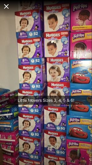 HUGGIES AND PULL UPS for Sale in Bronx, NY
