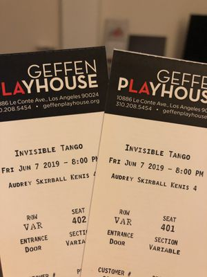Play tickets 🎫 at Geffen Playhouse in Westwood for Sale in Los Angeles, CA