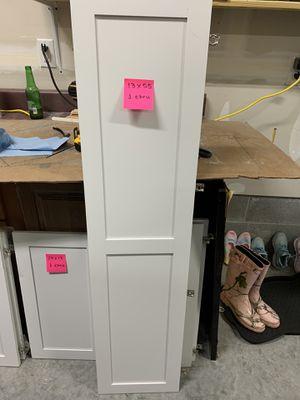 Cabinet doors with hinges for Sale in Mechanicsville, VA
