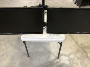 "2 - 24"" Acer Monitors with Articulated Mount for Sale in Gresham, OR"
