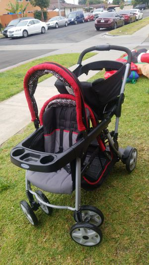 stroller double. carreola doble , olmost new. new nueva for Sale in Fullerton, CA