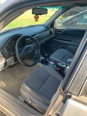 2007 Subaru Forester--Manual for Sale in Coronado, CA