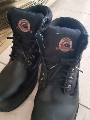 MENS SIZE 12 Steel Toe work boots NEW 20$ obo for Sale in Corona, CA
