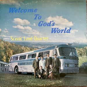 "The Scenic Land Quartet ""Welcome To God's World"" Vinyl Album $8 for Sale in Ringgold, GA"