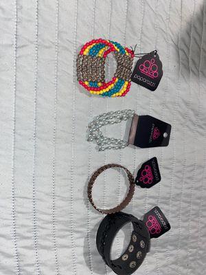 Paparazzi jewelry bracelets for Sale in Visalia, CA