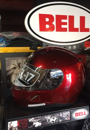 New candy red wine dot snell Motorcycle Helmet $130 for Sale in Whittier, CA