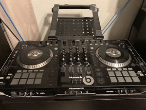 Numark NS7II with Odyssey case. More Dj equipment available for Sale in Temple Terrace, FL