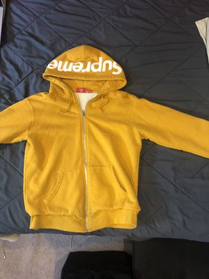 Supreme zip up hoodie for Sale in Westminster, CO