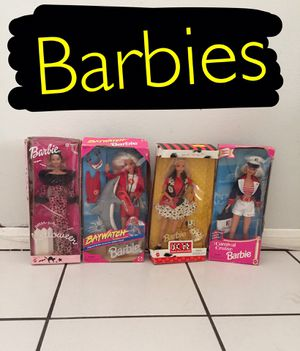 Barbies all for 70 for Sale in Upland, CA