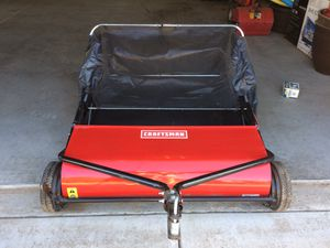 Craftsman Grass/Leaf Sweeper for Sale in Escalon, CA