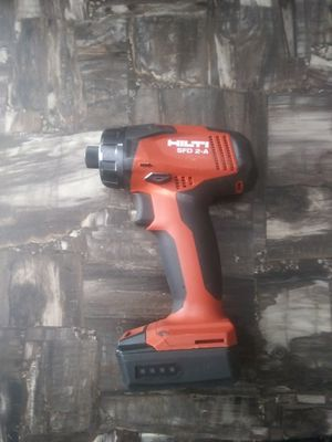 Hilti 12 volt impact drill one battery i don't have a charger for Sale in Garner, NC