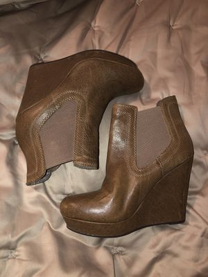 Seychelles wedge bootie in light brown Size 8 for Sale in Aloha, OR