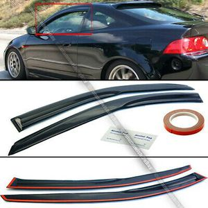 02-06 Acura RSX DC5 Mugen Style 3D Wavy Tinted Window Visor Vent for Sale in Pomona, CA